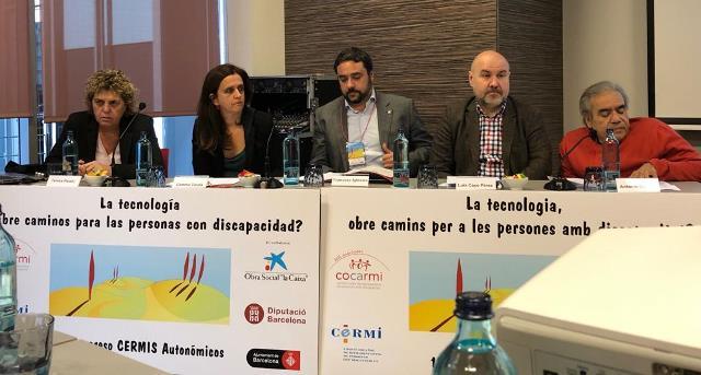 Mesa inaugural del XIV Congreso de CERMI Autonómicos