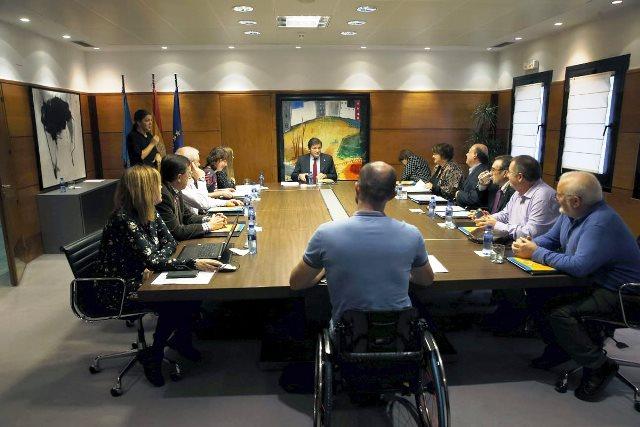 CERMI Asturias traslada sus reivindicaciones al presidente del Gobierno de Asturias