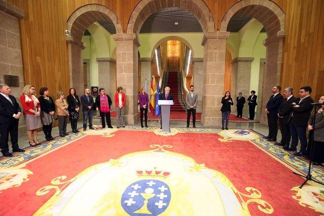 CERMI Galicia en la celebración del Día de la discapacidad en el Parlamento gallego