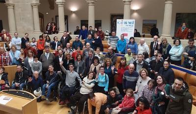 Celebración del Día Internacional y Europeo de las Personas con Discapacidad en el Parlamento de La Rioja