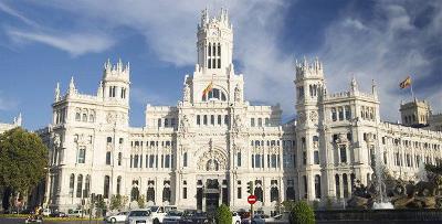 Palacio de Comunicaciones, sede del Ayuntamiento de Madrid