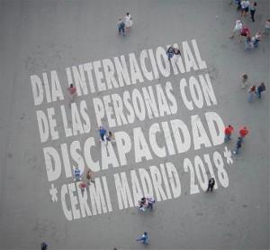 Día Internacional de las personas con discapacidad. CERMI Madrid 2018