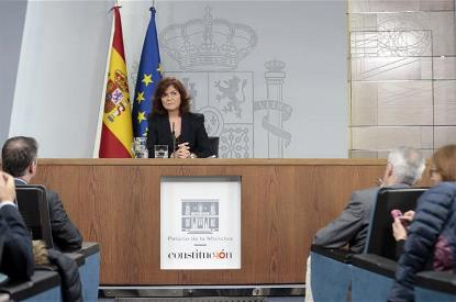 vicepresidenta del Gobierno de España, ministra de la Presidencia, Relaciones con las Cortes e Igualdad (Imagen: Pool Moncloa/JM Cuadrado)