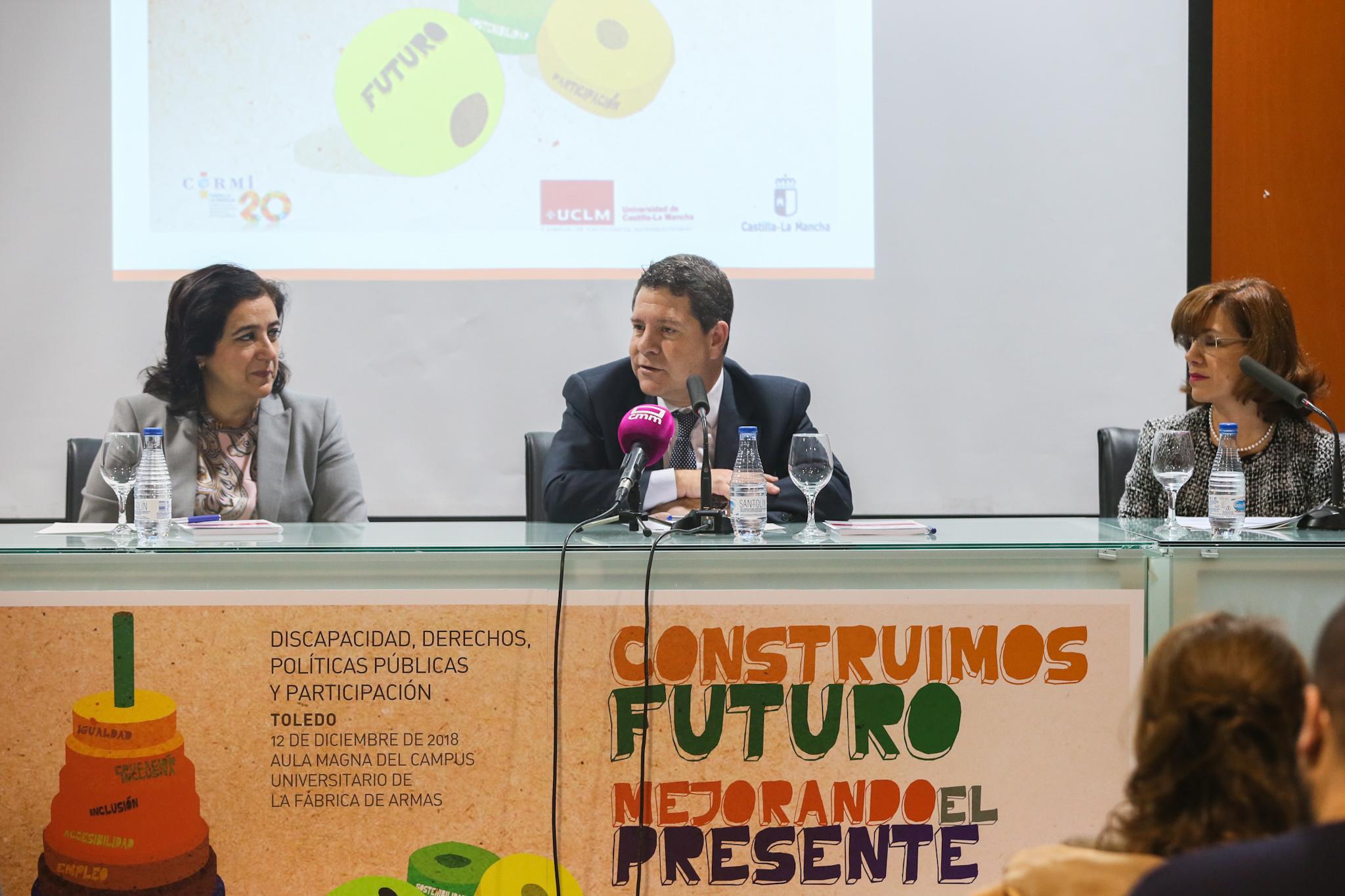 García-Page, en el Aniversario de Cermi CLM