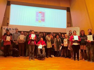 """Entregados los premios del VII Concurso de Pintura y Escultura CERMI Aragón """"Trazos de Igualdad"""""""