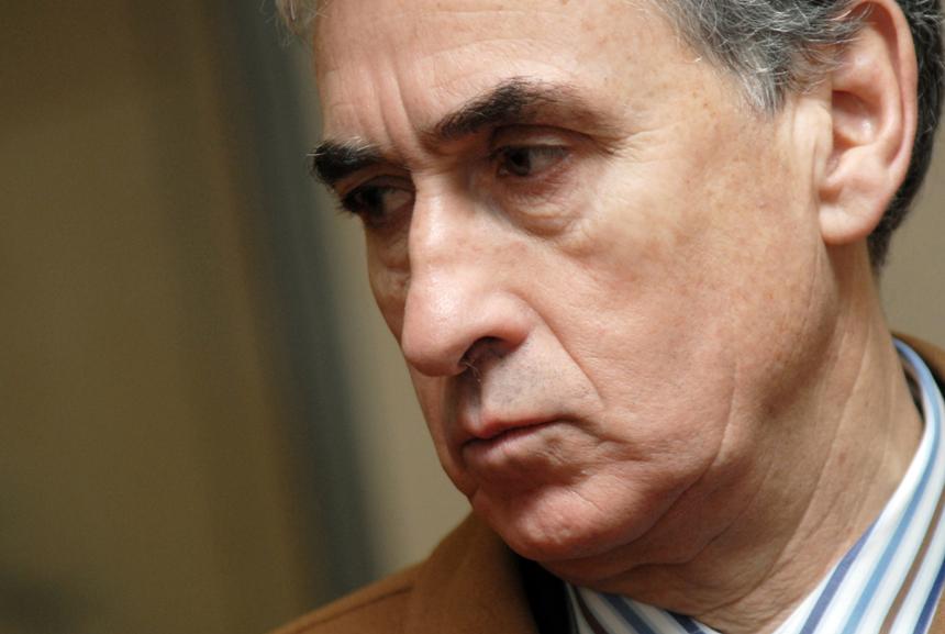 Ramón Jáuregui, portavoz en la Comisión Constitucional del Congreso de los Diputados del Grupo Parlamentario Socialista