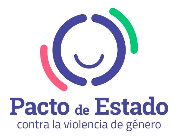 Logotipo sobre el pacto de estado contra la violencia de género