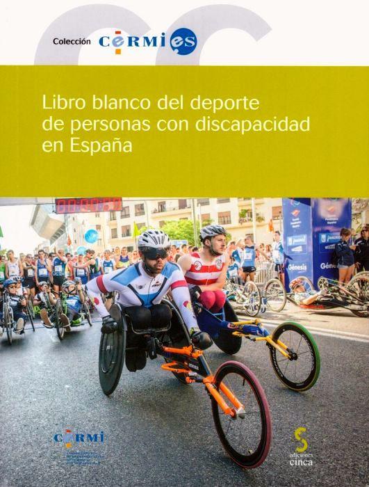 Portada del 'Libro blanco del deporte de personas con discapacidad en España'