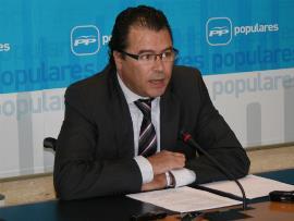David Atienza, presidente de la Comisión Permanente no Legislativa para las Políticas Integrales de la Discapacidad de las Cortes de Castilla-La Mancha