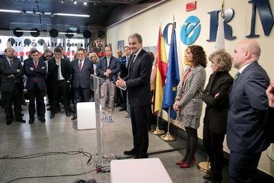 José Luis Rodríguez Zapatero, presidente del Foro de la Contratación Socialmente Responsable, en la entrega del Premio cermi.es