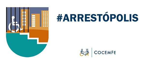 Logo campaña Arrestópolis.