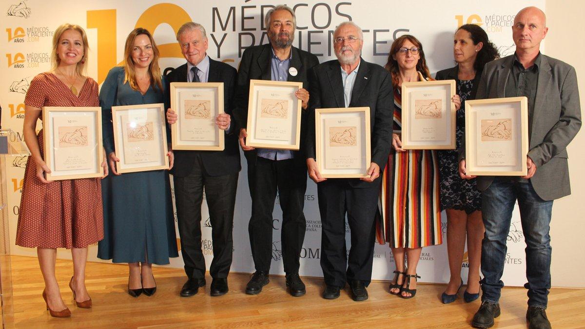 Fundación CERMI Mujeres recibe el Premio a la 'Mejor Acción Social', concedido por la Organización Médico Colegial de España