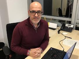 Ramón Lamiel, gerente del Instituto Municipal de Personas con Discapacidad de Barcelona