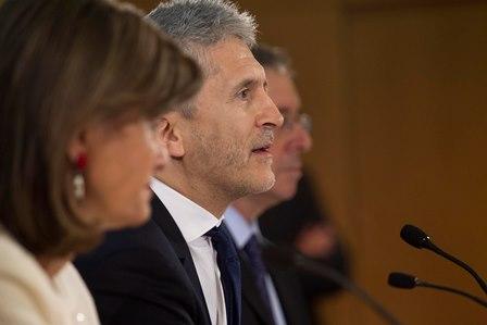 El ministro del Interior, Fernando Grande-Marlaska, presenta un Plan de acción para prevenir y perseguir los delitos de odio