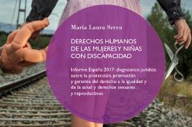"""Imagen de la Portada del informe """"Derechos Humanos de las mujeres y niñas con discapacidad. España 2017"""""""