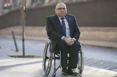 Óscar Moral Ortega, presidente del CERMI Comunidad de Madrid