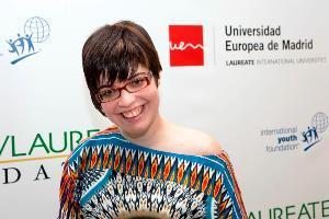 Claudia Tecglen, presidenta de Convives con Espasticidad
