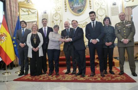 Entrega del Premio Cermi.es a la Oficina Técnica de Accesibilidad de Ceuta.