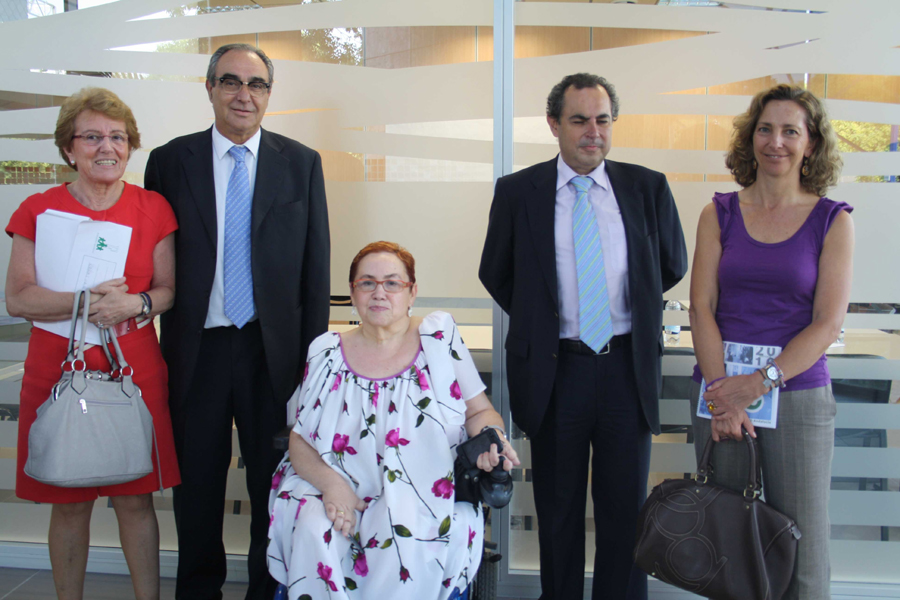 Imagen de la Comisión Permanente del CERMI Andalucía