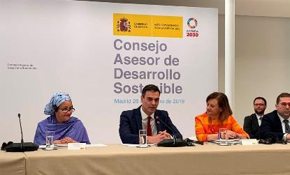 El CERMI asiste en Moncloa a la constitución del Consejo de Desarrollo Sostenible
