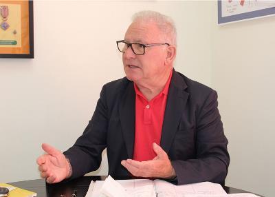 Nel González Zapico, presidente de la Confederación Salud Mental España