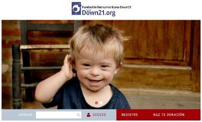 Imagen de la web Down 21