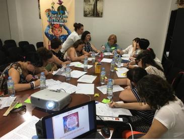 Participantes de Proines Don Benito del 'Proyecto piloto para la activación social de mujeres con discapacidad en Extremadura' de FCM