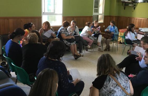 Participantes de Zafra del 'Proyecto piloto para la activación social de mujeres con discapacidad en Extremadura' de FCM