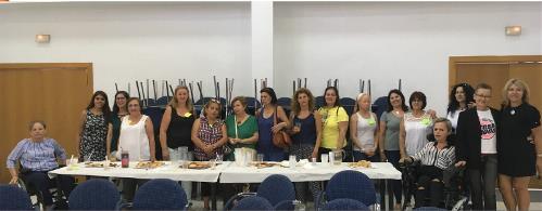 Participantes de Cáceres del 'Proyecto piloto para la activación social de mujeres con discapacidad en Extremadura' de FCM
