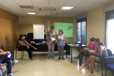 Participantes de Mérida del 'Proyecto piloto para la activación social de mujeres con discapacidad en Extremadura' de FCM