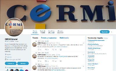 Imagen del Twitter del CERMI
