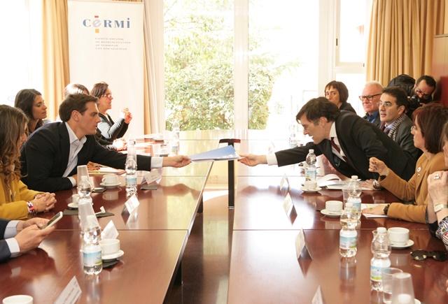 El CERMI se reúne con Albert Rivera, de Ciudadanos
