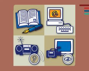 Ilustración de un documento de 'Las reglas europeas para hacer información fácil de leer y comprender'