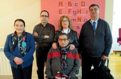 Junta directiva del CERMI La Rioja.