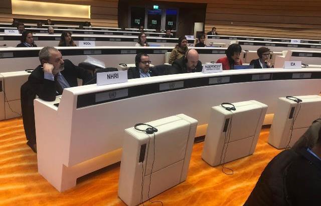 LA delegación del CERMI en Ginebra, ante el Comité de la Convención de la ONU sobre Discapacidad
