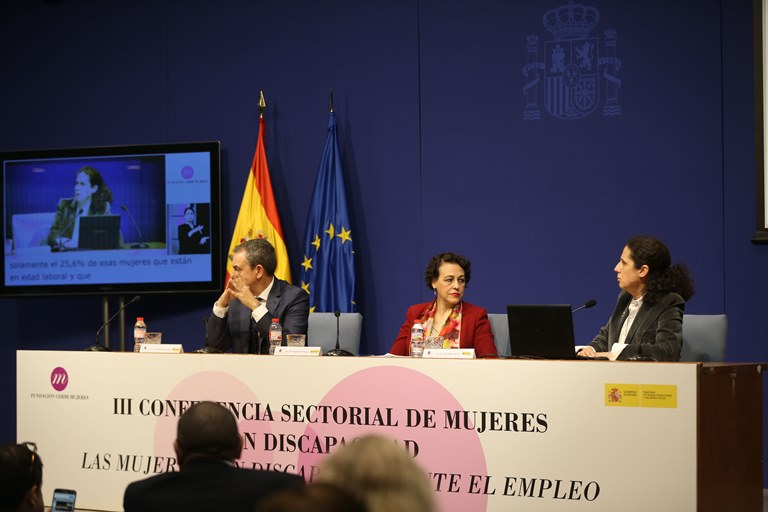 Inauguración de la III Conferencia Sectorial de Mujeres con Discapacidad