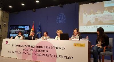 Momento de la III Conferencia Sectorial de Mujeres con Discapacidad
