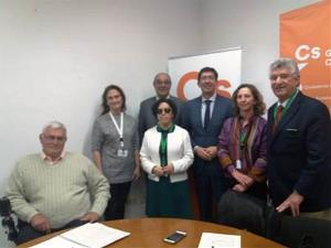 CERMI Andalucía mantuvo ayer jueves una reunión de trabajo con el vicepresidente de la Junta de Andalucía y consejero de Turismo, Regeneración, Justicia y Administración Local, Juan Marín
