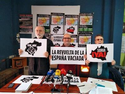 Imagen de la convocatoria de 'La revuelta de la España Vaciada'