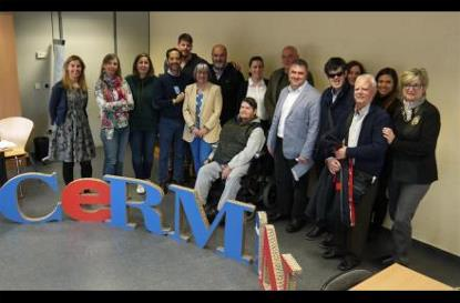 Imagen tras la Asamblea de CERMI Navarra