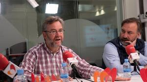 Miguel Ángel Valero, Director del Ceapat Y José Luis Borau, Jefe del departamento de Accesibilidad al Medio Físico de Fundación ONCE