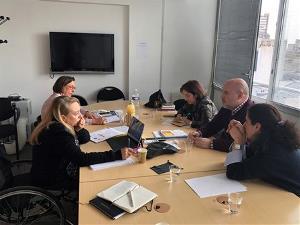 El CERMI realiza una visita a Francia para conocer de cerca las políticas sobre discapacidad del país galo