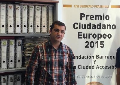 Antonio Tejada, activista de la discapacidad
