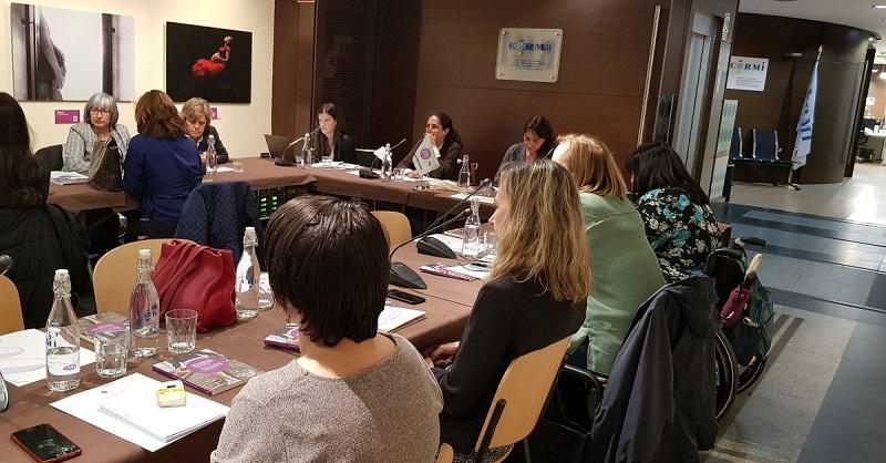 Imagen de la tercera reunión del Consejo de Participación de Mujeres con Discapacidad de la Fundación CERMI Mujeres