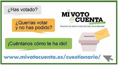 Imagen que acompaña al cuestionario elaborado para evaluar las elecciones