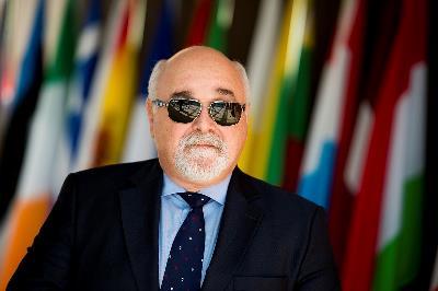 Yannis Vardakastanis, presidente del Foro Europeo de la Discapacidad