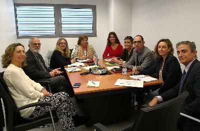 CERMI Andalucía aborda las claves para impulsar la inserción laboral de las personas con discapacidad con la directora general de Políticas Activas de Empleo