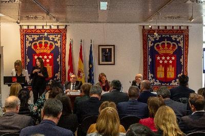 CERMI Madrid en un acto de celebración del 20 aniversario