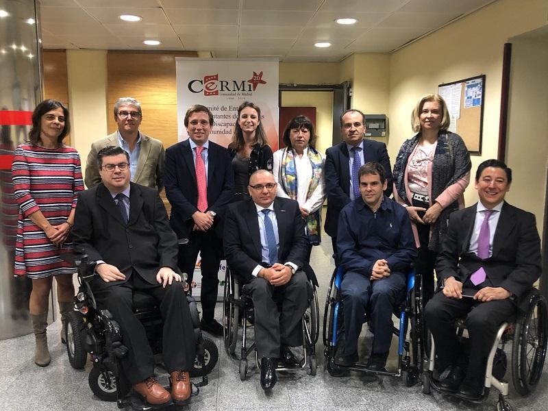 CERMI Madrid mantiene un encuentro con la candidata del PP a la Presidencia de la Comunidad
