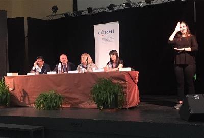 Presentación de 'La adaptación de la normativa española a la Convención Internacional de los Derechos de las Personas con Discapacidad' en el Centro Penitenciario Madrid IV Navalcarnero